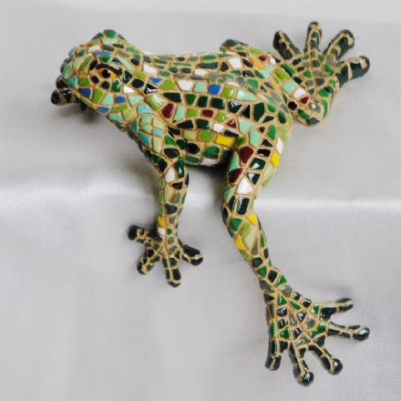 Barcino Designs Sitting Frog 09416